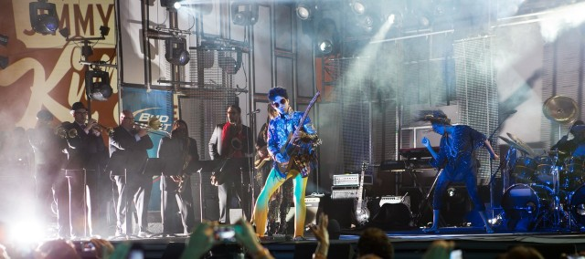 Prince at Jimmy Kimmel